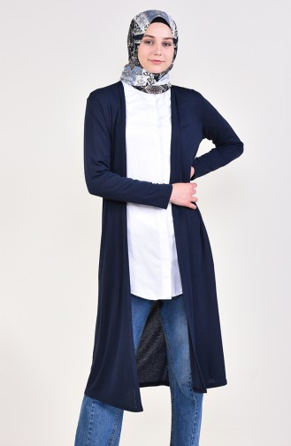 Navy Blue Cardigan 9074-01