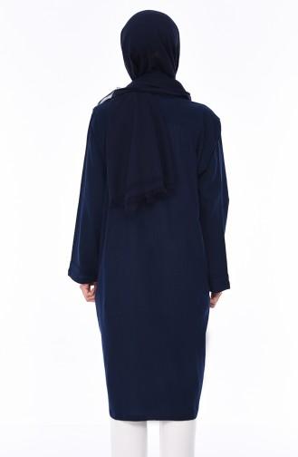 Navy Blue Mantel 0610-01
