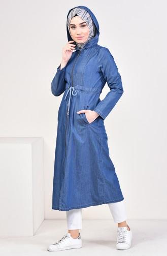 Navy Blue Mantel 4033-02