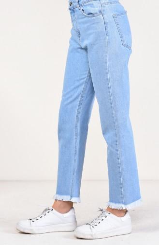 Jeans Blue Pants 2581-01