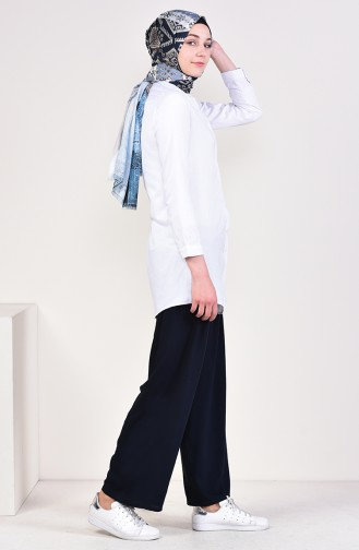 Navy Blue Pants 2154-01