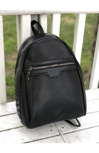 Black Back Pack 12-01