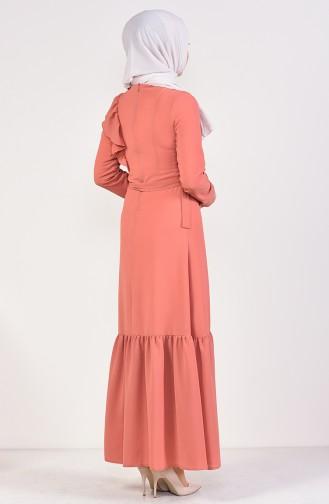 Embroidered Belted Dress 1190-04 Tile 1190-04