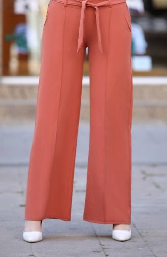 Belted Wide Leg Pants 3001-04 Onion Shell 3001-04