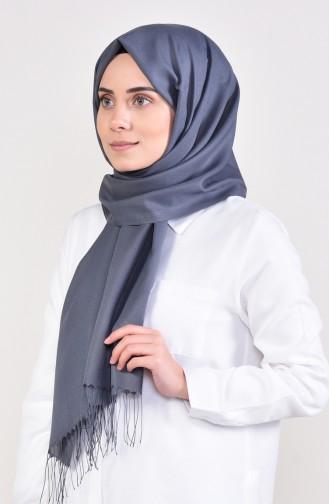 Rauchgrau Schal 70125-05