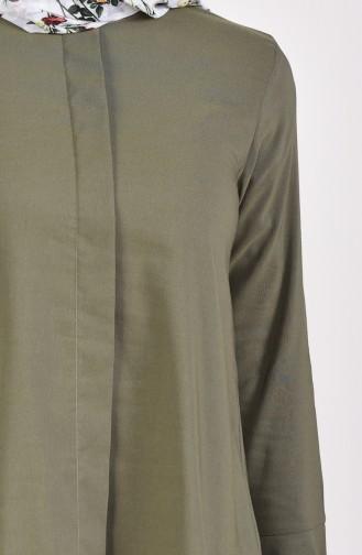 Tunique Manches Volante 1194-01 Khaki 1194-01