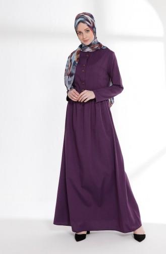 Robe 7215-12 Pourpre Clair 7215-12