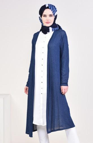 d5b304b733797 Sefamerve, Navy Blue Vest