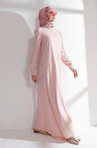 Pink İslamitische Jurk 5007-03