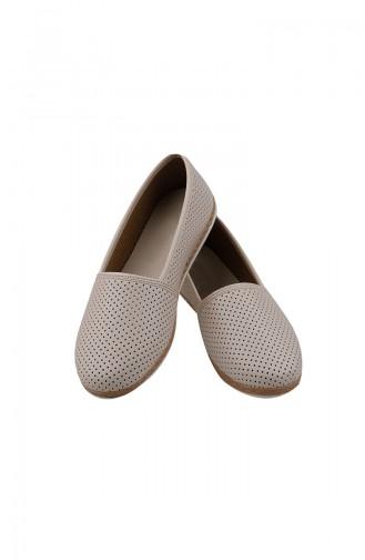Women´s Flat Shoes  0127-05 Cream 0127-05