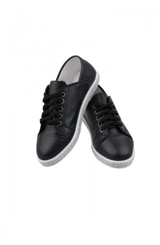Bayan Günlük Ayakkabı PM02-02 Siyah 02-02