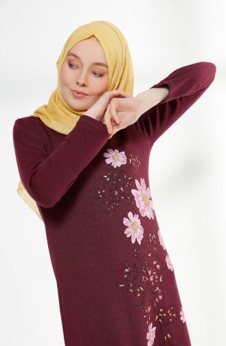 Blumenmuster Kleid 5041-12 Zwestchge 5041-12