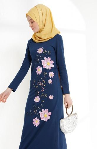 54a22f0614c07 Çiçekli Tesettür Elbise Modelleri ve Fiyatları - Tesettür Giyim ...
