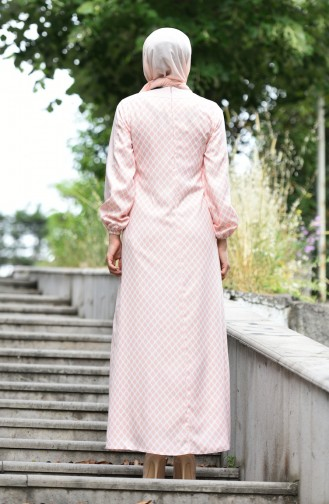 Robe Hijab Poudre 10134-06