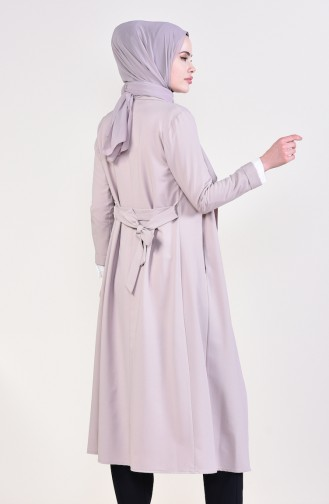 Beige Trench Coats Models 5469-02