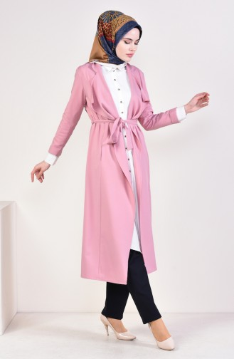Dusty Rose Trench Coats Models 5469A-01