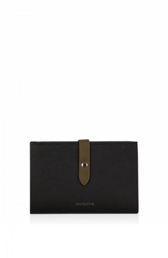 محفظة نقود أسود 191DJ8012-Siyah-01