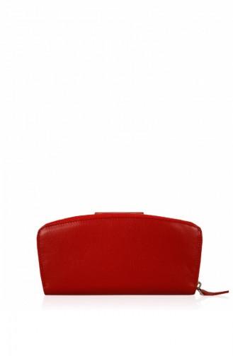 Matmazel Amanda Deri Cüzdan 182Ef138T Kırmızı