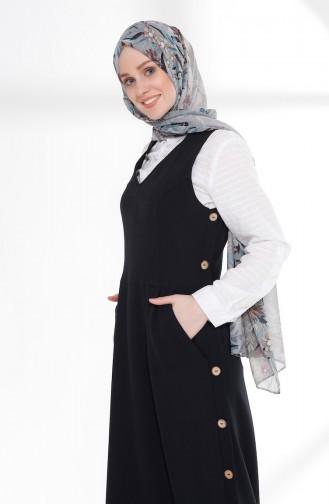robe sans manche Bleu Marine 3094-03