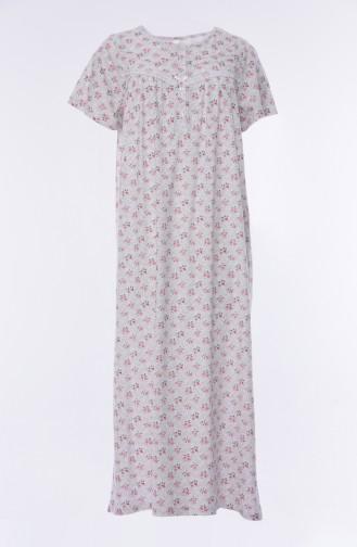 Kurzarm Nachthemd 160512-01 Rot 160512-01