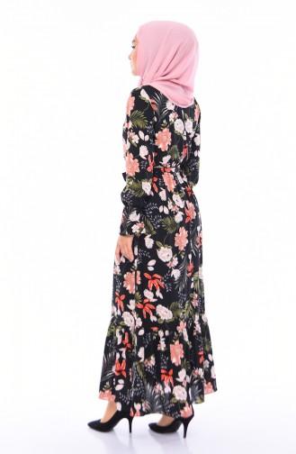 Robe Hijab Noir 60029-01