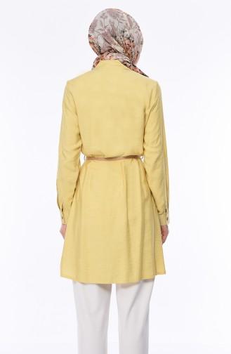 Belt Tunic 2376-04 Yellow 2376-04