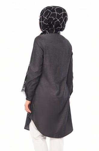 Tunique Noir 6375-15