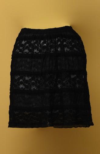 Jupe Noir 117-01