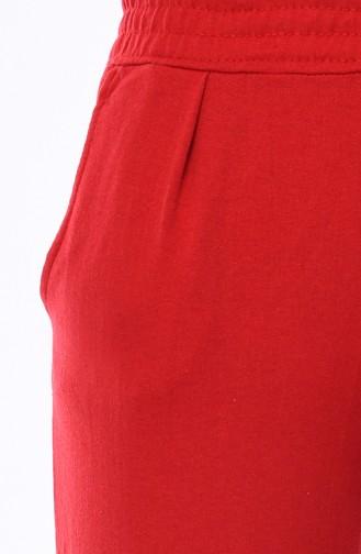Cepli Eşofman Altı 1003-04 Kırmızı