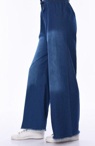 Pantalon Bleu Marine 1006-02