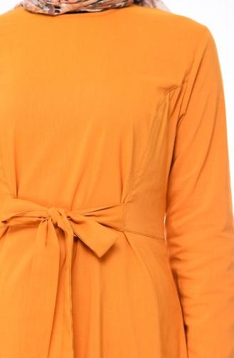 Belt Dress 1197-05 Mustard 1197-05