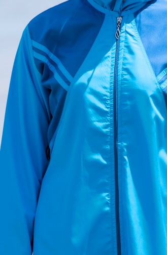 Tesettür Mayo 25260 Mavi Lacivert