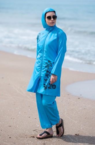 Hijab Swimsuit  25268 Turquoise 25268