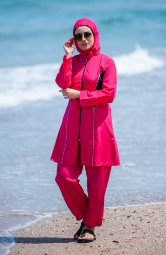 Hijab Swimsuit  25272 Fuchsia 25272