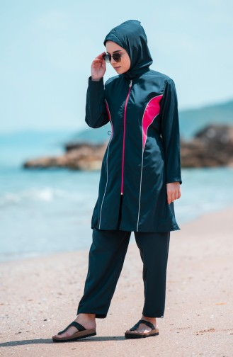 Maillot de Bain Hijab Bleu Marine 25273