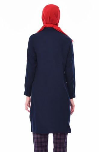 Navy Blue Tuniek 8227-10