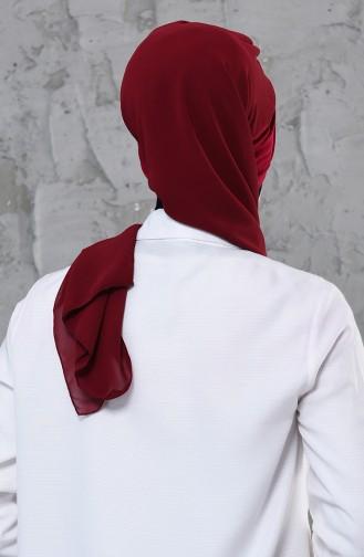 على استعداد لارتداء التوربان أحمر كلاريت 0055-7-3