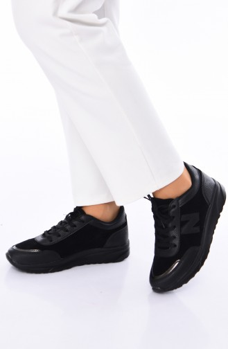 ALLFORCE Sneakers Women´s Shoes 0756 Black Suede 0756