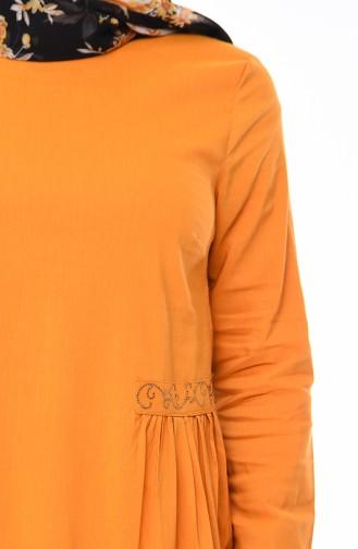 Stony Dress 1196-05 Mustard 1196-05