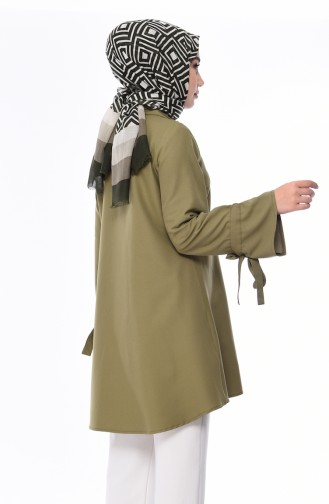 Kravat Yaka Tunik 2072-01 Haki