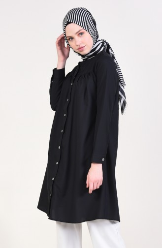 Plated Tunic 2073-03 Black 2073-03
