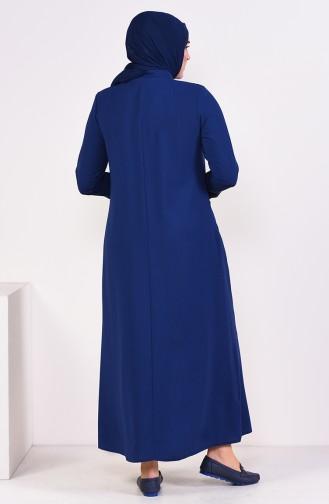 Abayas Bleu marine clair 5924-04