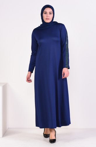 Robe Hijab Blue roi 4560A-02