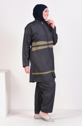 Hijab Swimsuit  15259 Smoked 15259