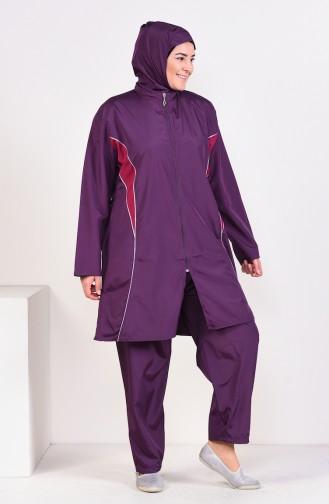 Hijab Swimsuit  15261 Purple 15261