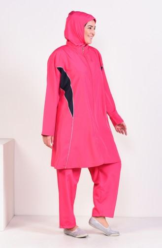 Hijab Swimsuit  15269 Fuchsia 15269
