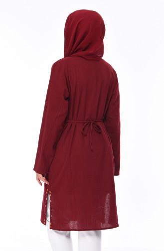 Robe Brodée 0300-05 Noir 0505-04