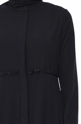 Black Abaya 0010-01