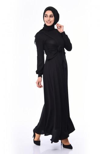 Robe Hijab Noir 0157-01