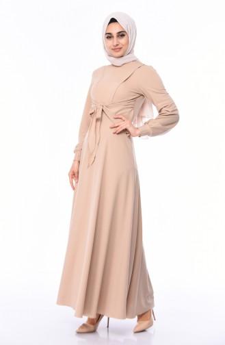 Robe Hijab Beige 0157-02